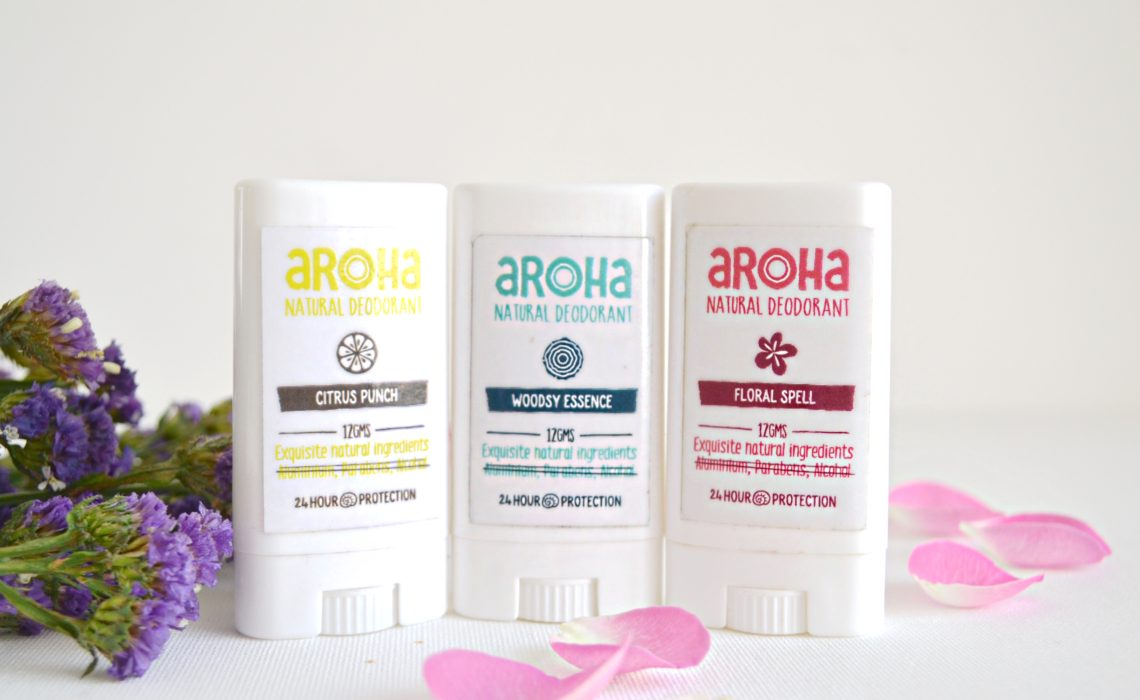 Aroha - Natural Deodorants
